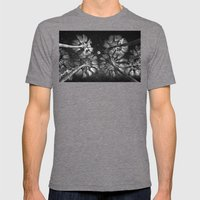 Elevated Paradise ~ Moon… Mens Fitted Tee Tri-Grey SMALL