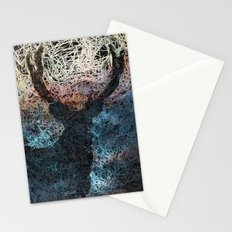 Deer in the woods Stationery Cards