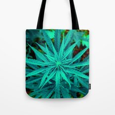 Twisted Frosty Weed Tote Bag