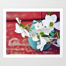 Wishing for Spring Art Print