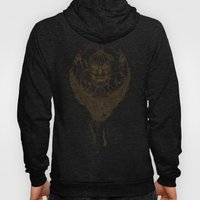 lady death // brown Hoody