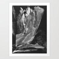 Naked Girl Art Print