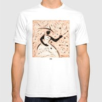 Orixás - Ifá Mens Fitted Tee White SMALL