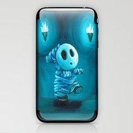 Mummy Shyguy iPhone & iPod Skin