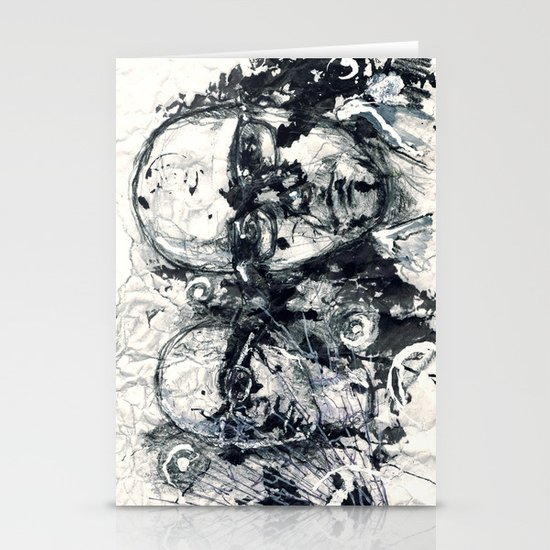 """""""Destroyed"""" by Cap Blackard Stationery Card"""
