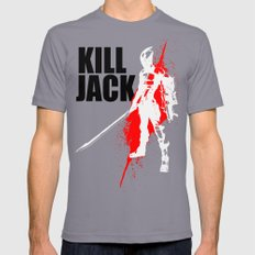 KILL JACK - ASSASSIN Mens Fitted Tee Slate SMALL