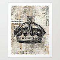 Crown II Art Print