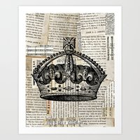 Crown II Art Print