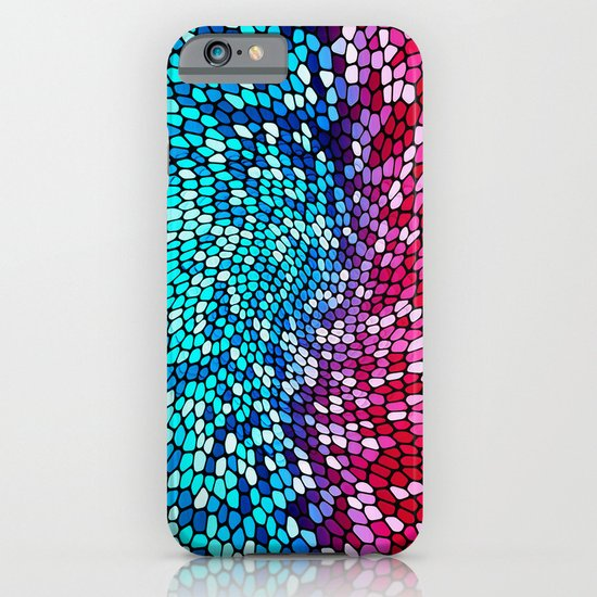 THINK TEAL AND PINK iPhone & iPod Case