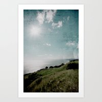 Ohope Lookout Art Print
