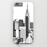 New York Black And White… iPhone 6 Slim Case