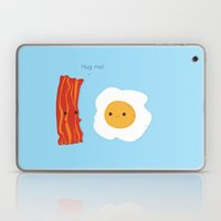 Would you be the bacon to my eggs? Laptop & iPad Skin