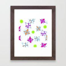 Festive Cracker Jacks Framed Art Print