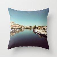 Auxerre Throw Pillow