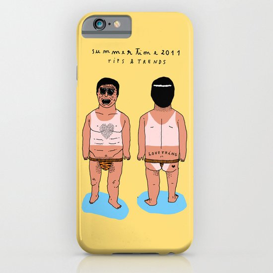 SUMMERTIME tips & trends iPhone & iPod Case