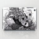 Land of the Sleeping Giant (ink drawing) iPad Case