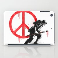Art is a weapon! iPad Case