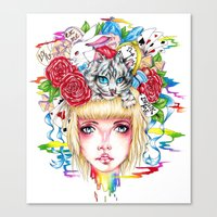 You're All Mad Canvas Print