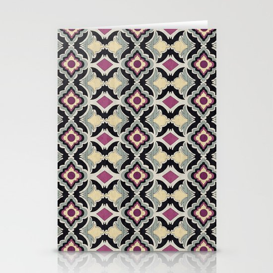 BatPattern Stationery Card