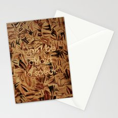 Don't Be Afraid Stationery Cards