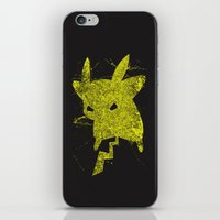 Yellow Monster iPhone & iPod Skin