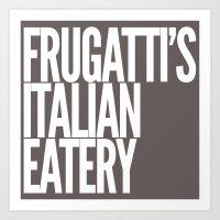 Frugatti's 2 Art Print