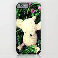 iPhone & iPod Case featuring Clover Fields by Palin