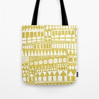 Golden Doodle abstract Tote Bag
