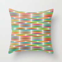 Happiness explosion Throw Pillow