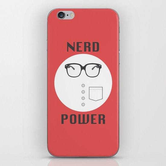 Nerd Power iPhone & iPod Skin