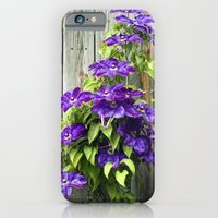iPhone & iPod Case featuring Climbing Purples by Laura George