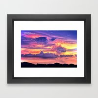 Of Final Things Framed Art Print