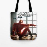 The Flash Dance Tote Bag