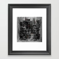 :: Night Sounds :: Framed Art Print