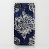 Cream Floral Moroccan Pa… iPod touch Slim Case