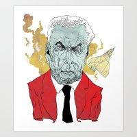 John Diefenbaker  Art Print