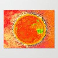 Luna Solar Canvas Print
