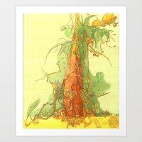 Treezz Art Print