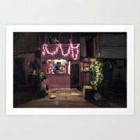Divali Lights - Mahalaxm… Art Print