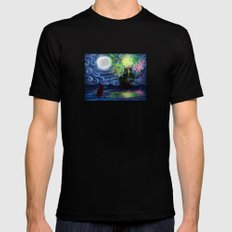 Part of That World SMALL Mens Fitted Tee Black