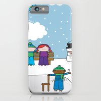 iPhone & iPod Case featuring Winter by oekie