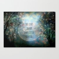 Her Own Fairytale Canvas Print