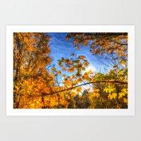 Autumns Arrival Art Art Print