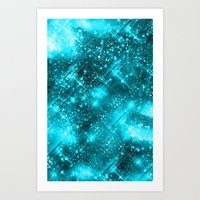 Dazzling Series (SkyBlue… Art Print