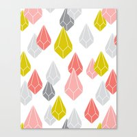 Raining Gems - Enchanted Canvas Print