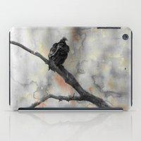 Perched Vulture iPad Case