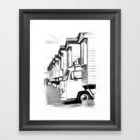 Volkswagen Van Framed Art Print