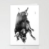 Running Boar Stationery Cards
