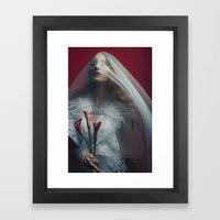 Queen Witch Framed Art Print