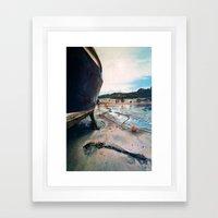 Girl Frances Framed Art Print